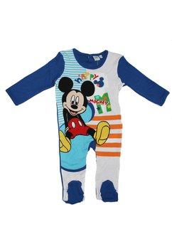 Salopeta albastra, happy Mickey