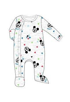 Salopeta bebe, Hello Mickey Happy, gri