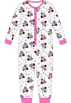 Salopeta, Minnie Mouse, gri cu stelute mov