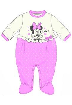 Salopeta Minnie Mouse, Love, roz