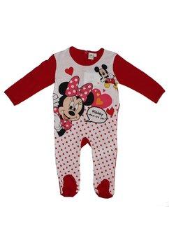 Salopeta rosie, Minnie Mouse, cu inimioare