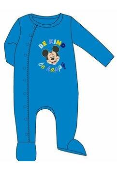 Salopeta velur, Mickey be happy, albastra