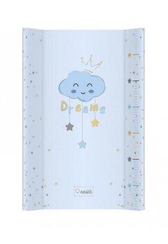 Saltea de infasat moale, Dreams, albastra, 70x47cm