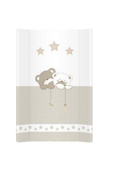 Saltea de infasat moale, ursuleti cu stele, 70 x 47 cm