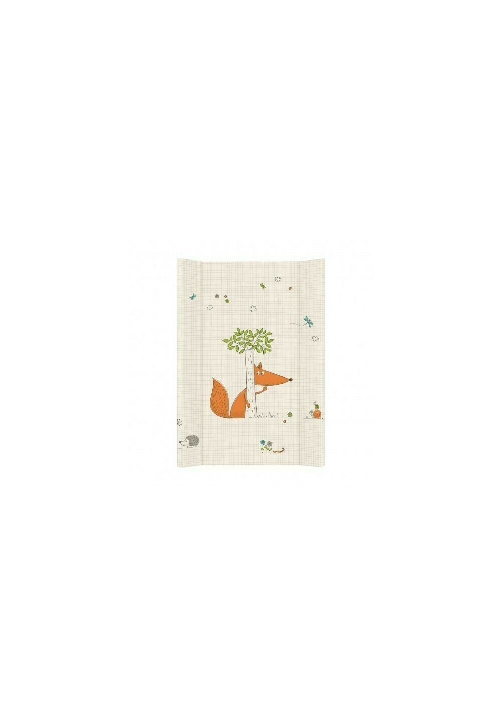 Saltea de infasat, vulpita, 50 X 80 cm imagine