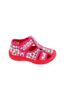 Sandale, alb cu roz, Minnie Mouse