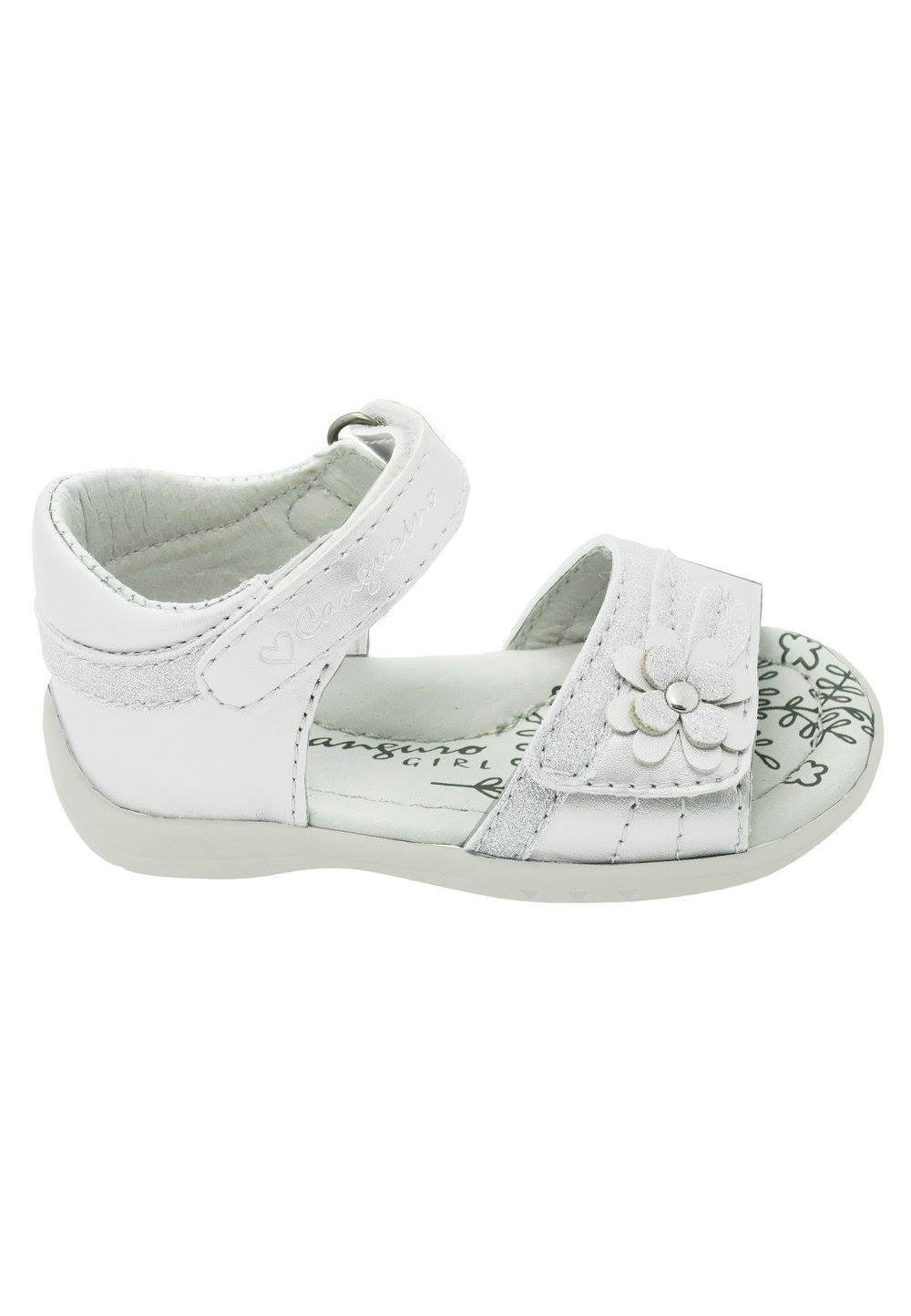 Sandale albe, deschise