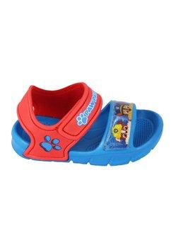 Sandale baieti, albastru cu rosu, Paw Patrol