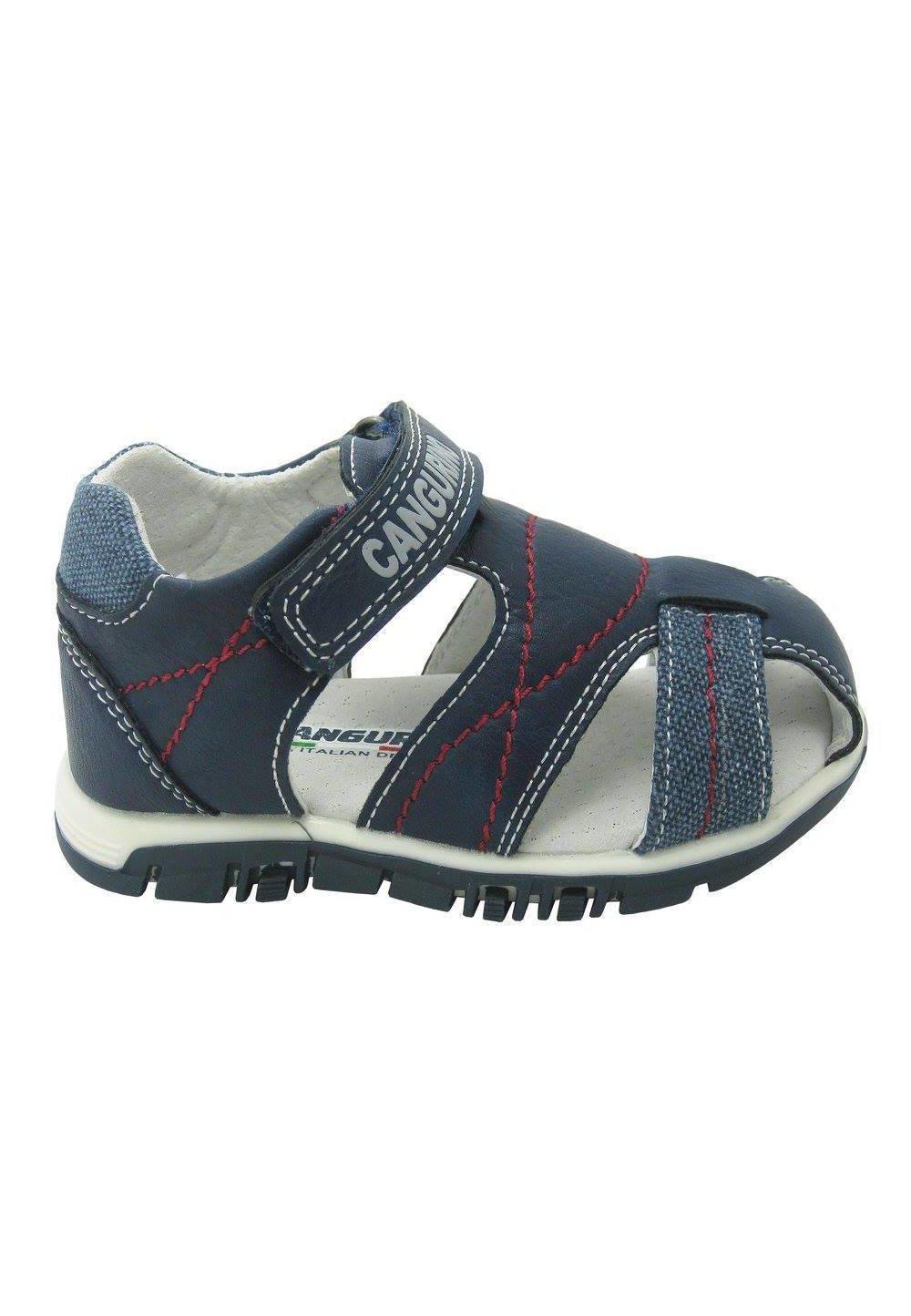 Sandale baieti, bluemarin