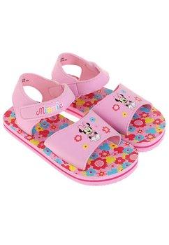 Sandale fete Minnie Mouse roz deschis