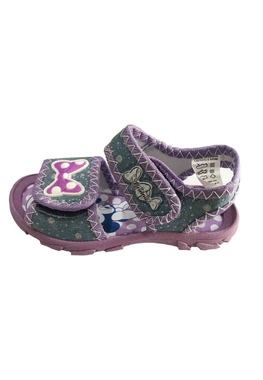 Sandale, jeans, Minnie cu fundita