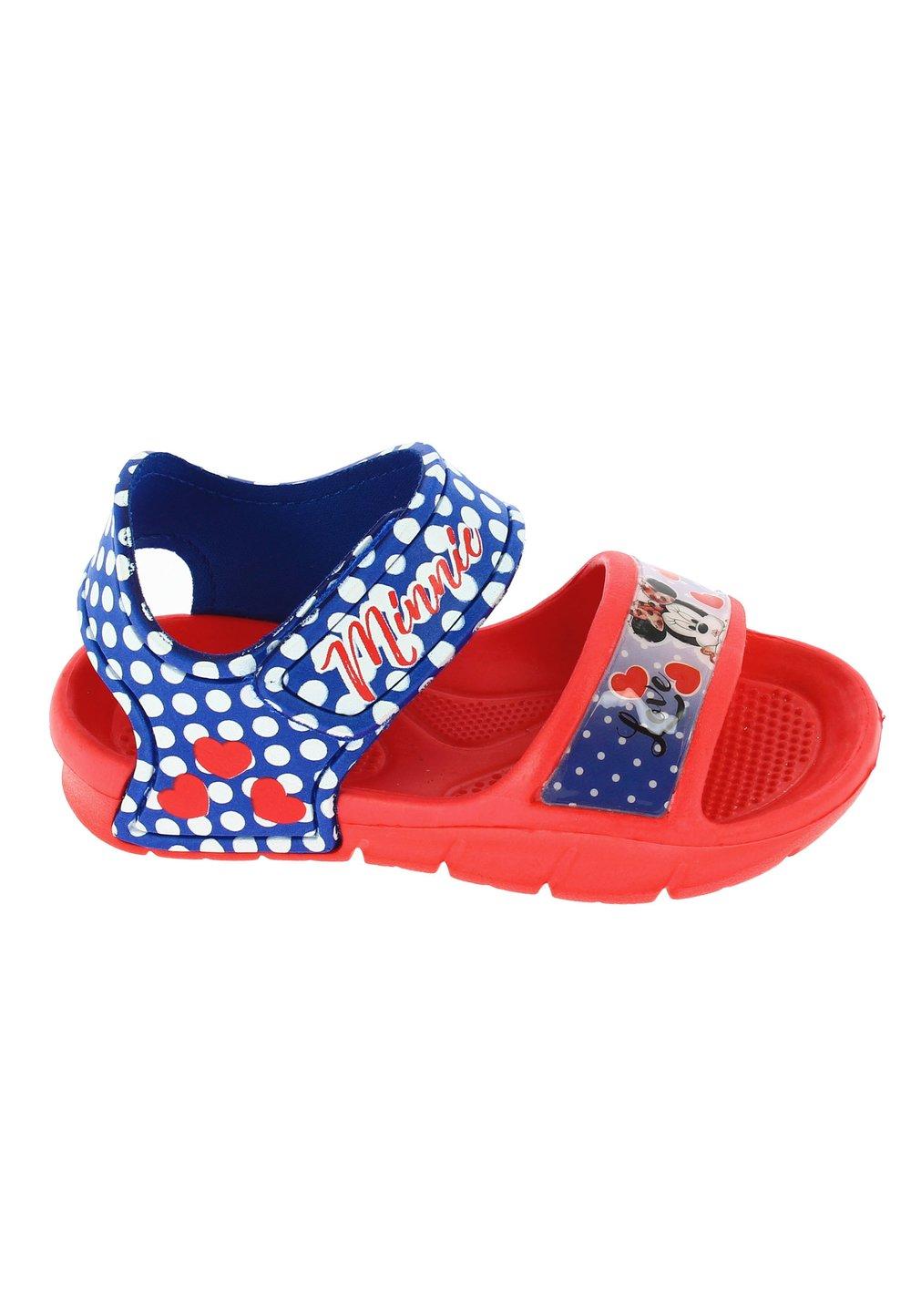 Sandale, Love Minnie, rosii cu buline imagine