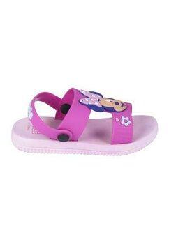 Sandale, Minnie M. roz cu floricele