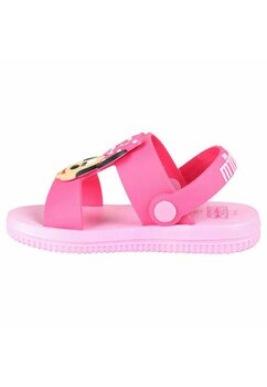 Sandale, Minnie Mouse cu fundita roz