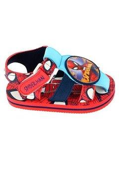 Sandale plaja, baieti, Spider-Man, rosii