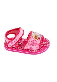 Sandale plaja, fete, Anna si Elsa, roz