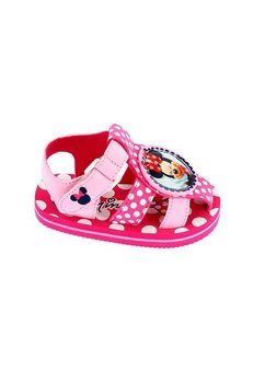 Sandale plaja, fete, Minnie, roz