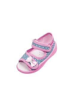 Sandale, roz cu buline, Emilka