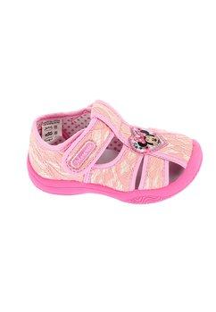 Sandale roz cu dantela, Minnie Mouse