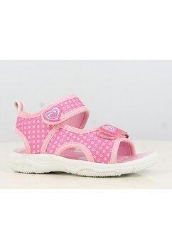 Sandale, roz cu stelue si inimioare