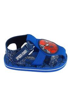 Sandale spuma, albastre, Spider Man