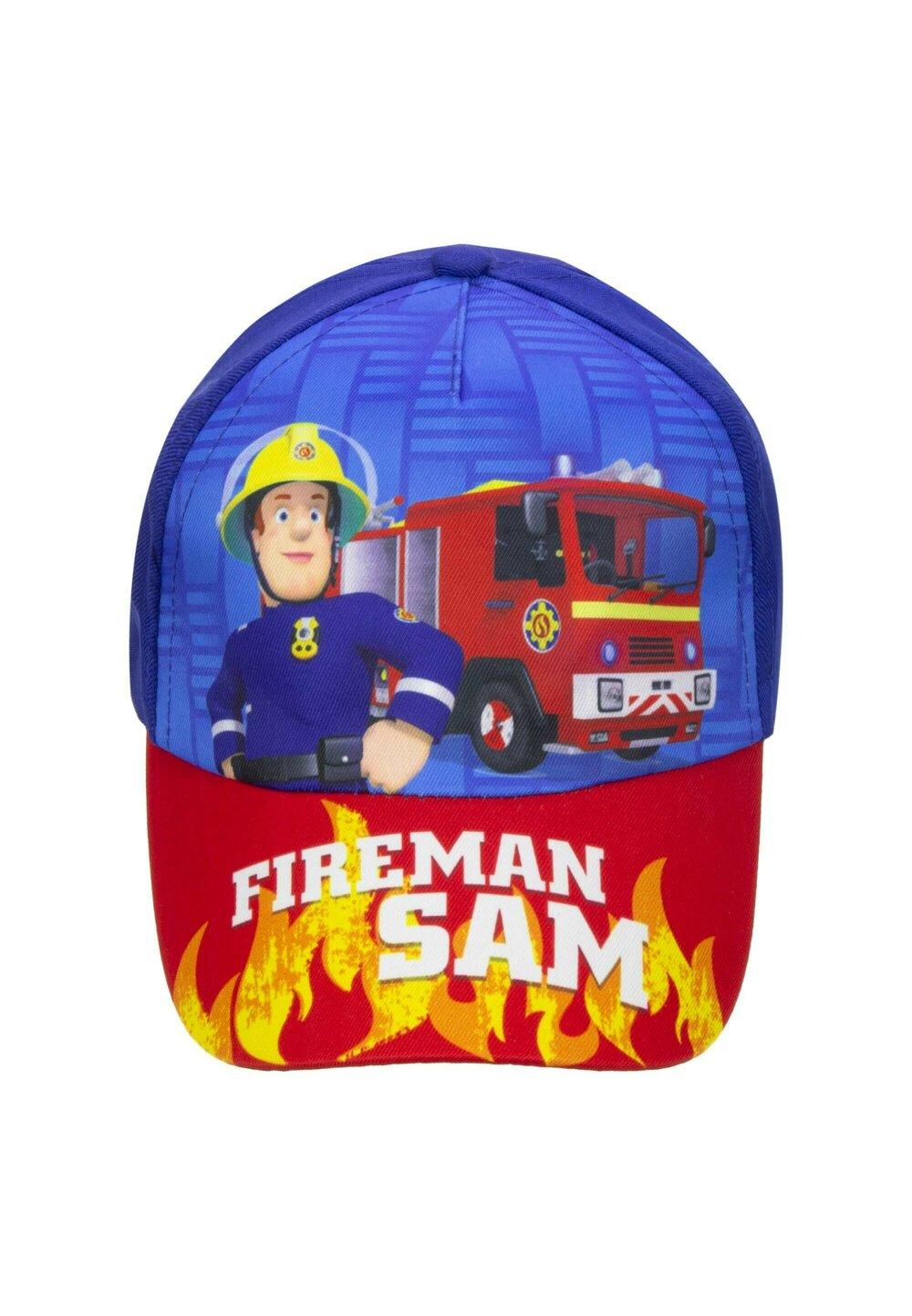 Sapca, Fireman Sam, rosu cu albastru imagine