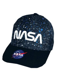 Sapca, NASA, bluemarin cu buline albe