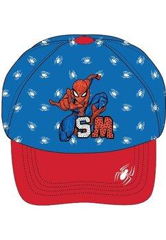 Sapca, Spider Man, SM, albastru cu rosu