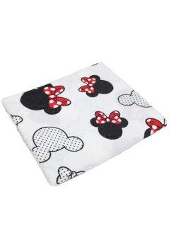 Scutec bumbac, Minnie si Mickey, 70x80cm