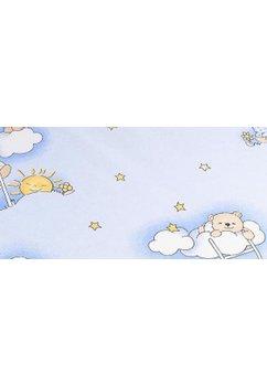 Scutec, ursuletul somnoros albastru, 80x65cm