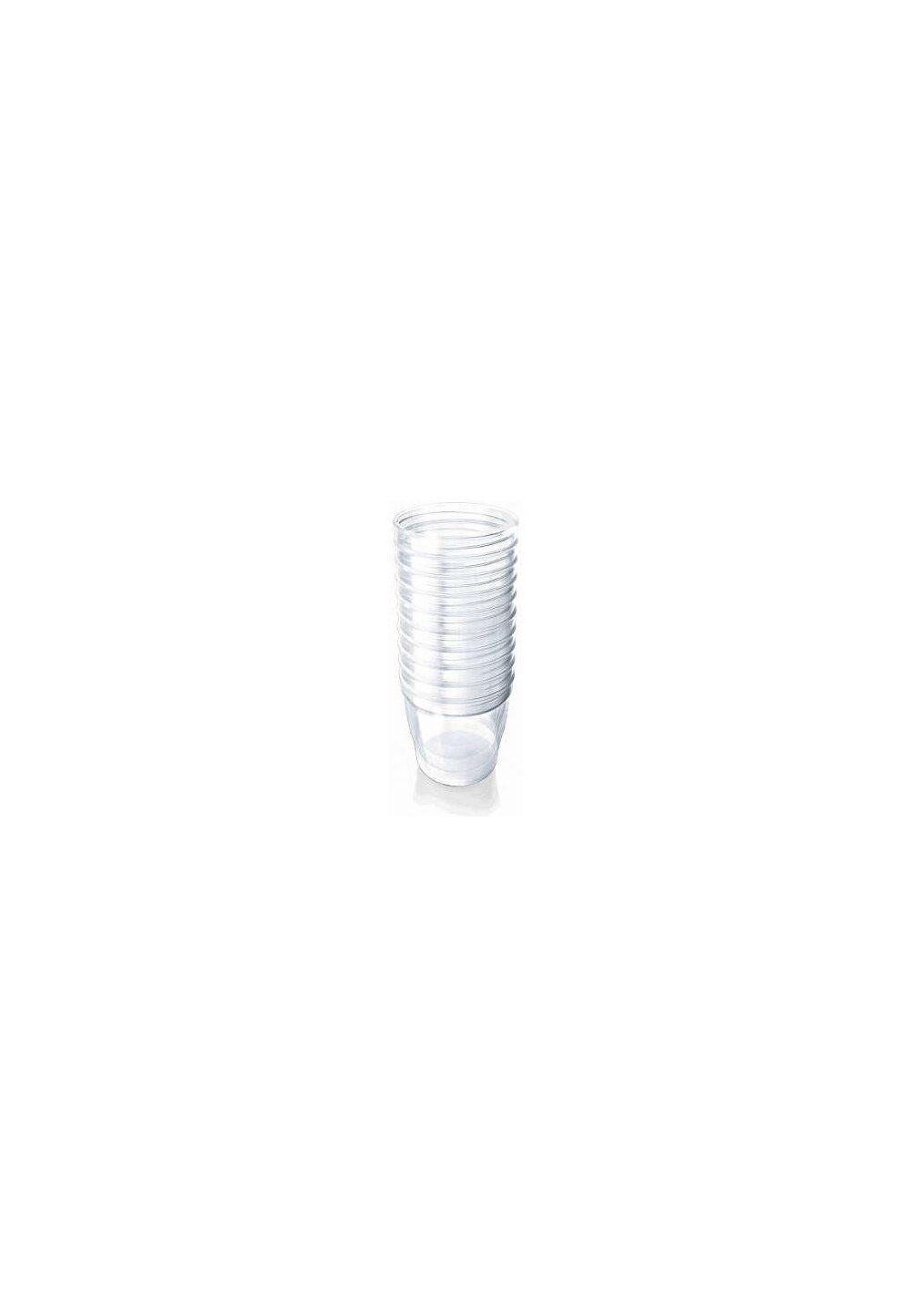 Set 10 recipiente fara capac, 180ml imagine