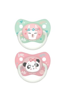Set 2 suzete Canpol, Love XoXo, panda roz, +18 luni