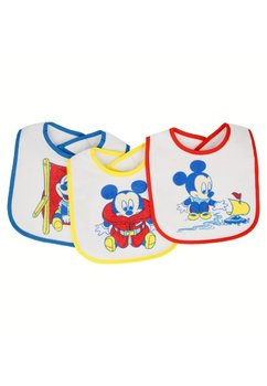 Set 3 bavete, bebe Mickey Mouse, 0-6 luni