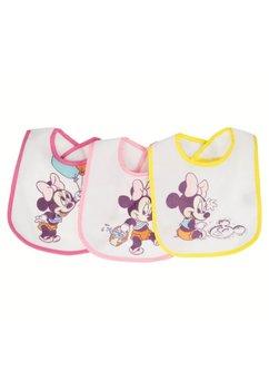 Set 3 bavete, bebe Minnie, 0-6 luni