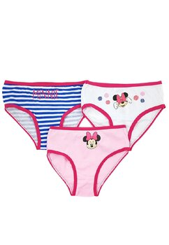 Set 3 perchi de chiloti, Minnie cu fundita
