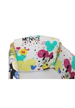 Set aparatoare patut, Maxi, Minnie si Mickey, crem, 120 x 60 cm