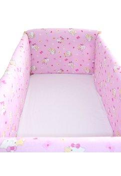 Set aparatori patut, Maxi, Hello Kitty, roz deschis, 120x60cm