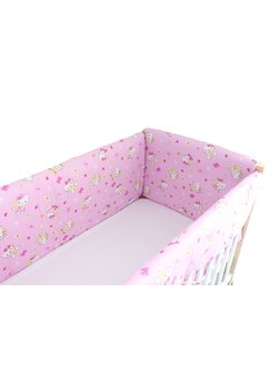Set aparatori patut, Maxi, Hello Kitty, roz deschis, 120x60cm