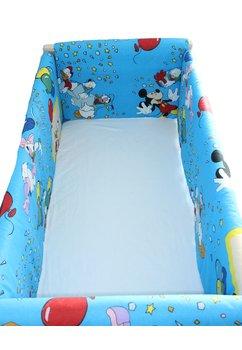 Set aparatori patut, Maxi, Mickey petrece, albastru, 120x60cm