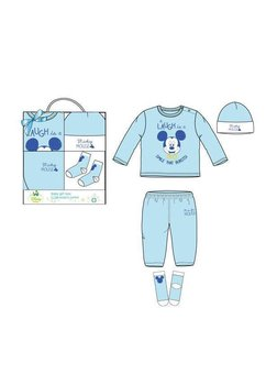 Set bebe, Mickey Mouse, albastru