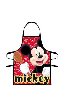 Set bucatarie, Mickey Mouse, rosu cu negru
