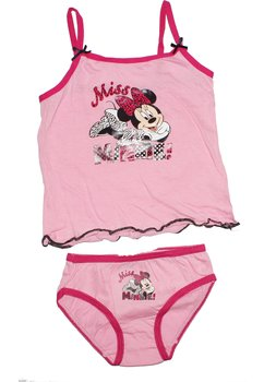 Set maieu+chilot roz, Minnie Mouse