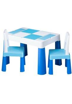 Set masuta cu scaunele, albastre