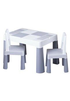 Set masuta cu scaunele, gri