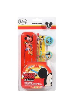 Set 6 accesorii scoala, Mickey Mouse and friends
