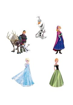 Set stickere perete, Frozen