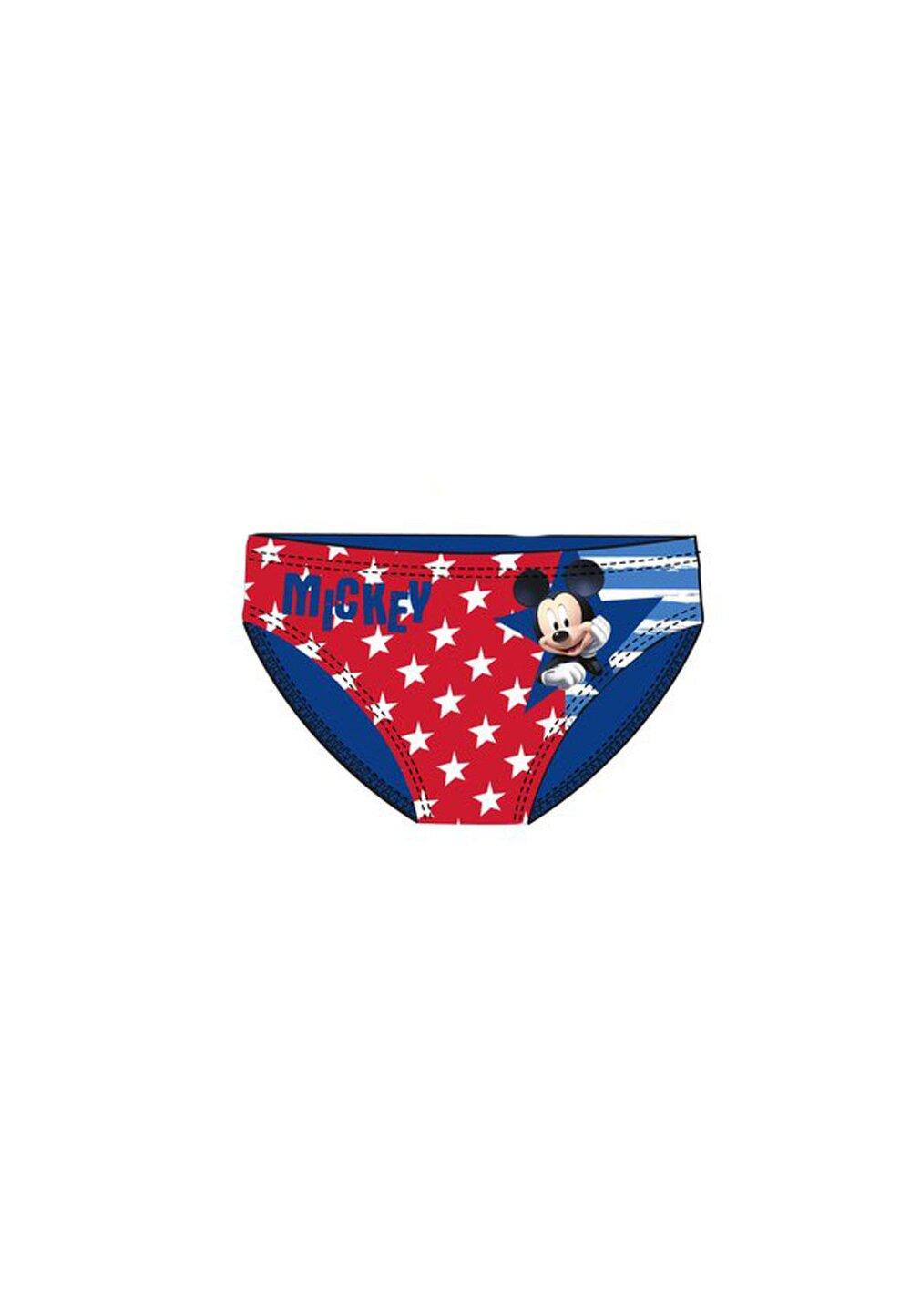 Slip de baie, Mickey Mouse, albastru cu stelute imagine