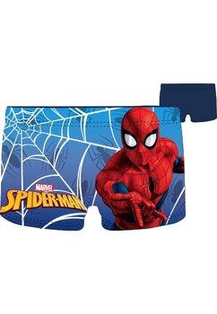 Slip de baie, Spider man, bluemarin cu rosu