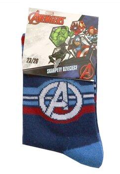 Sosete baieti, 75%bumbac, Avengers, bluemarin