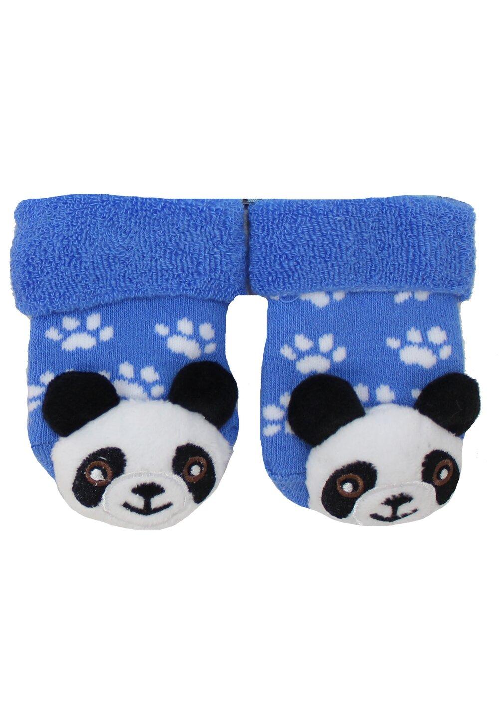 Sosete bebe, 3D, Ursuleti panda imagine